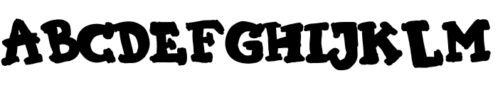 KIMI HIMI Font UPPERCASE