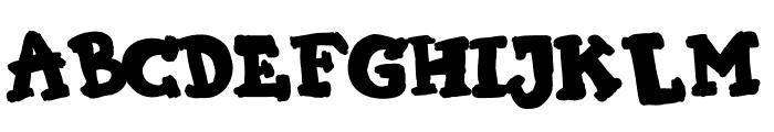 KIMI HIMI Font LOWERCASE