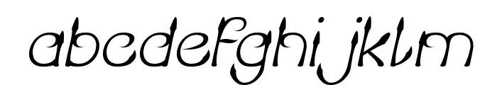 KING OF PIRATE Italic Font LOWERCASE