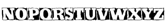 Kickstop Font UPPERCASE