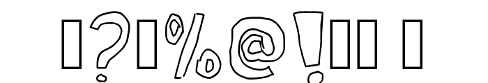 Kid Draws Font Regular Font OTHER CHARS