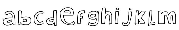 Kid Draws Font Regular Font LOWERCASE