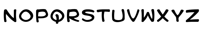 Kid Kosmic Font LOWERCASE