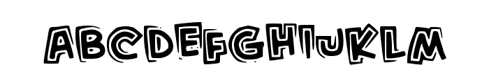 KidFromHell Font LOWERCASE