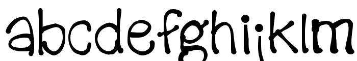 KidPixels Font LOWERCASE