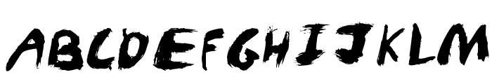KidTYPEPaint Font UPPERCASE