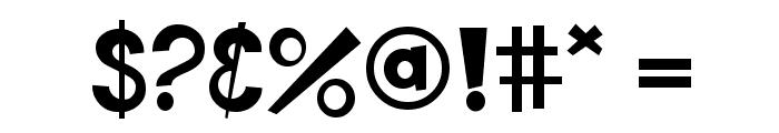 KidZone Pro Font OTHER CHARS