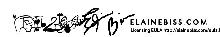 Kiddie Sampler Font LOWERCASE