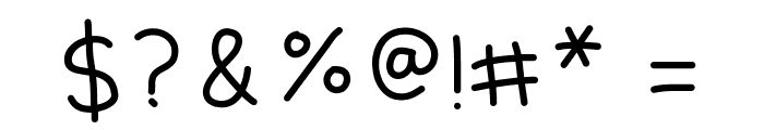 Kiddish Medium Font OTHER CHARS