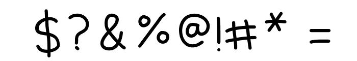 Kiddish Font OTHER CHARS