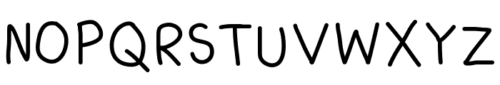 Kiddish Font UPPERCASE