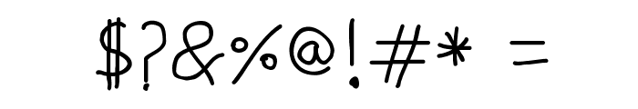 Kiddo-soup Font OTHER CHARS