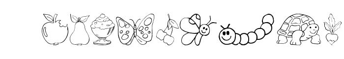 KiddyDing Font OTHER CHARS