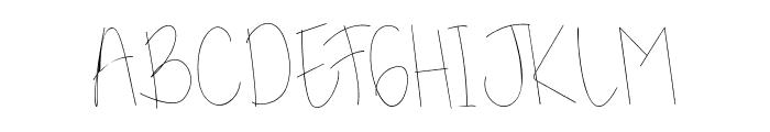 Kidosplay Light Font UPPERCASE