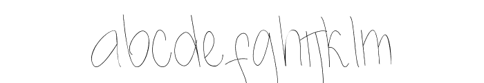Kidosplay Light Font LOWERCASE