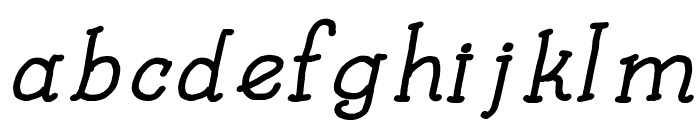 Kids Book Bold Italic Font LOWERCASE