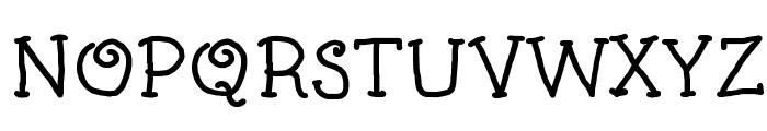 Kids Book Bold Font UPPERCASE
