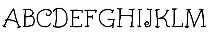 Kids Book Font UPPERCASE
