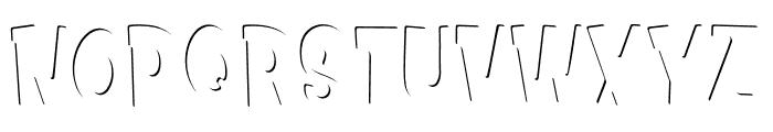 Kids Zone Inner Font UPPERCASE