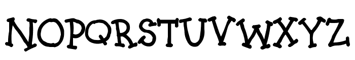Kids4Fun Font UPPERCASE