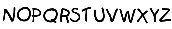 Kids Font UPPERCASE