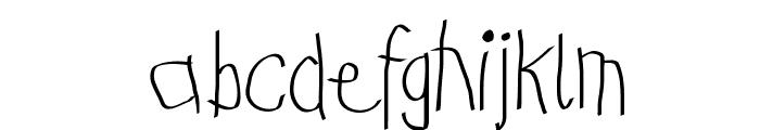 KidsFirstABC Font LOWERCASE