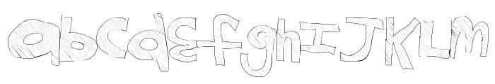 KidsGame Font LOWERCASE