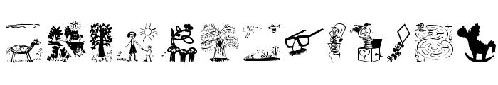 KidsStuff Font UPPERCASE