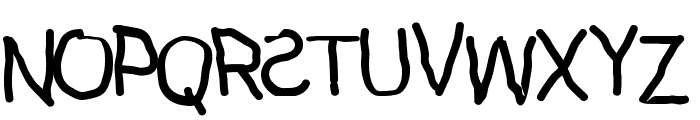Kidz Font UPPERCASE