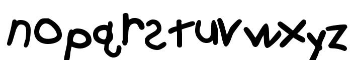 KidzOnlyTooSSK Bold Font LOWERCASE