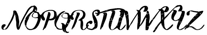 Kikelet Brush Font UPPERCASE