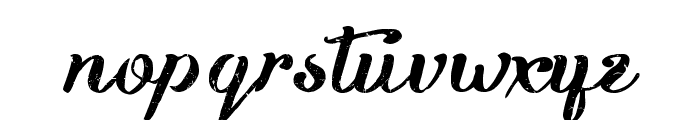Kikelet Brush Font LOWERCASE