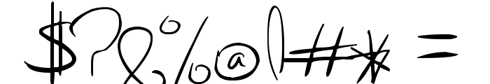 Kiki Font OTHER CHARS