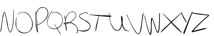 Kiki Font UPPERCASE