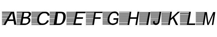 Kilat-Flash Font LOWERCASE