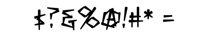 KillCrazy BB Font OTHER CHARS