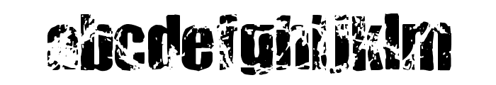Killer Ants Trial Version Font LOWERCASE