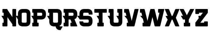 Killer College Font UPPERCASE