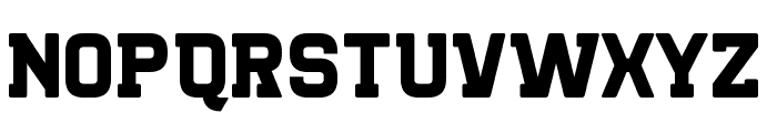 Killer College Font LOWERCASE
