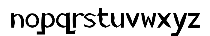 KillerStumps Font LOWERCASE