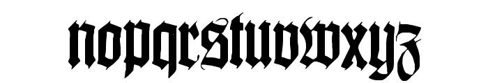 Killigrew Font LOWERCASE