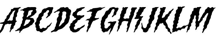 Killing Harmonic Font LOWERCASE