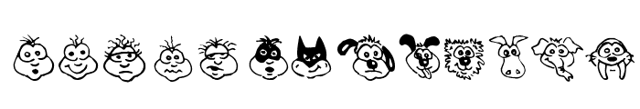 Kims Toons Font UPPERCASE