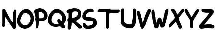 KimsHand-Bold Font UPPERCASE