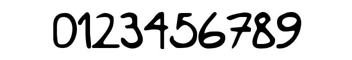 KimsHand Font OTHER CHARS