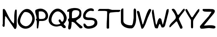 KimsHand Font UPPERCASE