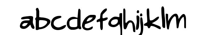 KimsHand Font LOWERCASE