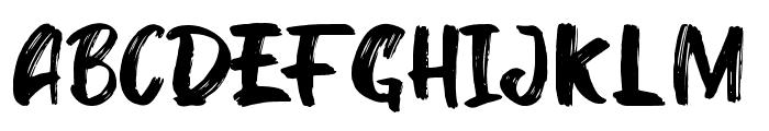 Kinder Boy Regular Font UPPERCASE