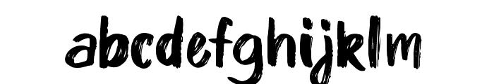Kinder Boy Regular Font LOWERCASE