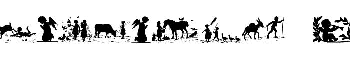 KinderUndAndereEngel Font OTHER CHARS